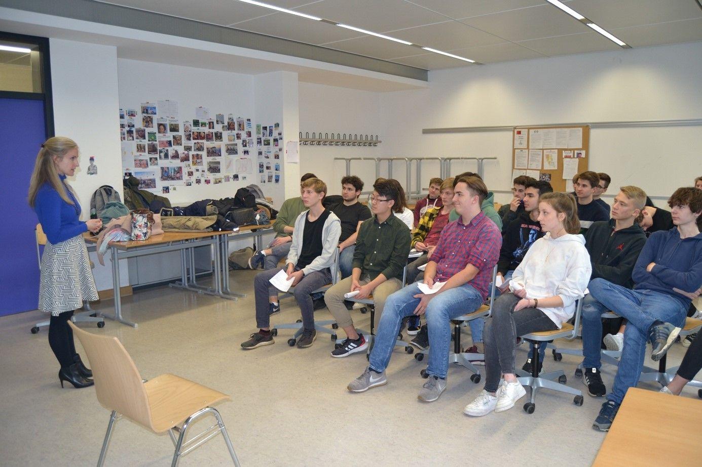 WHG München Besuch Mrs. Sobek November 2019