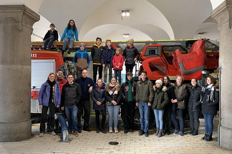 WHG München - Exkursion zur Feuerwache