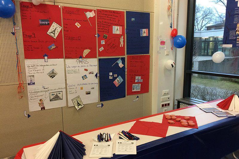 Wilhelm-Hausenstein-Gymnasium feiert Deutsch-Französischen Tag